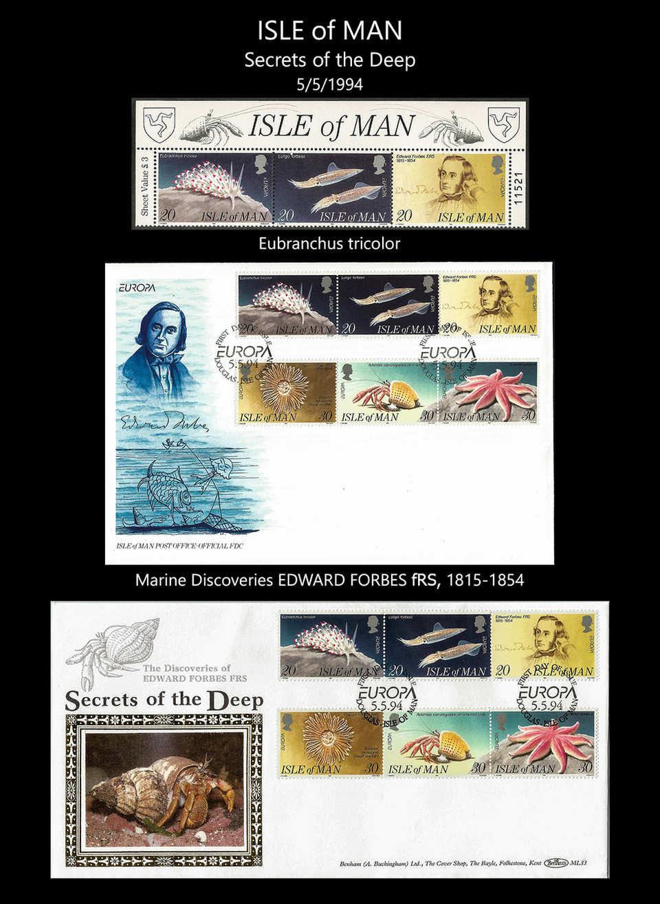 ISLE OF MAN Stamps & FDC