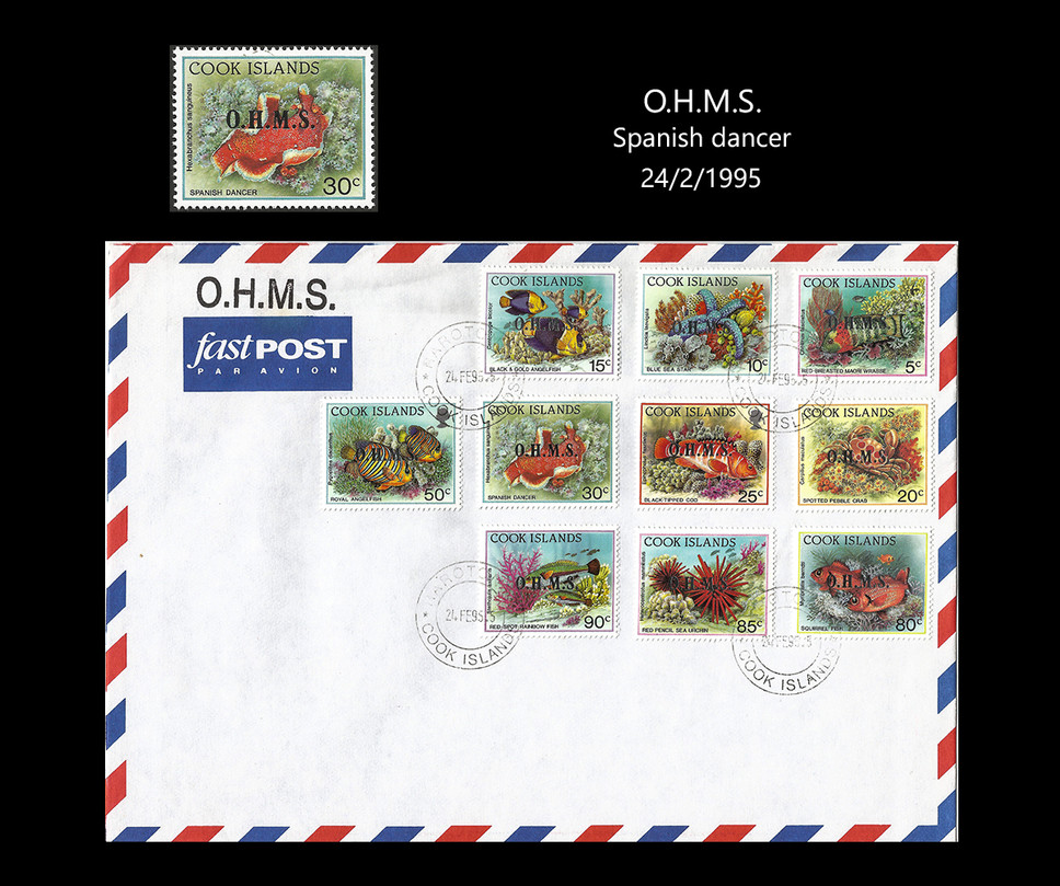 cook island 95 Stamps & FDC
