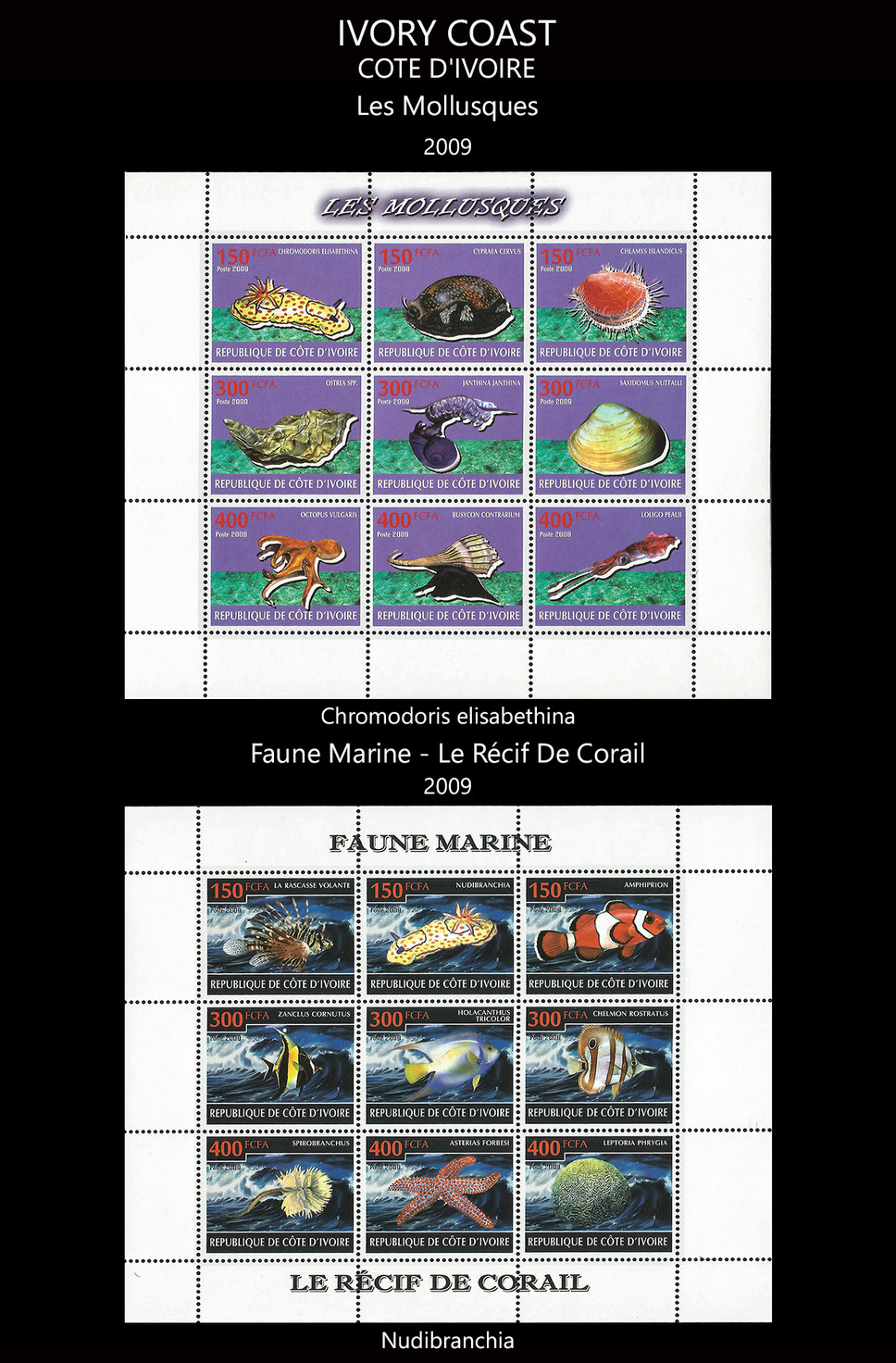 ivory coast Stamps & FDC
