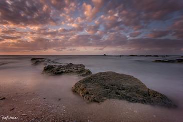 Sunset on Palmahim Beach