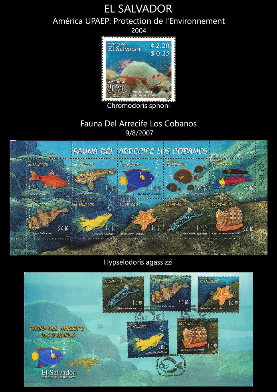 el salvador Stamps & FDC