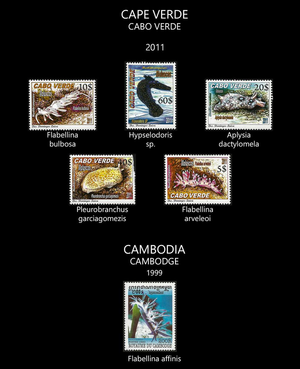 cape verde + cambodia Stamps & FDC