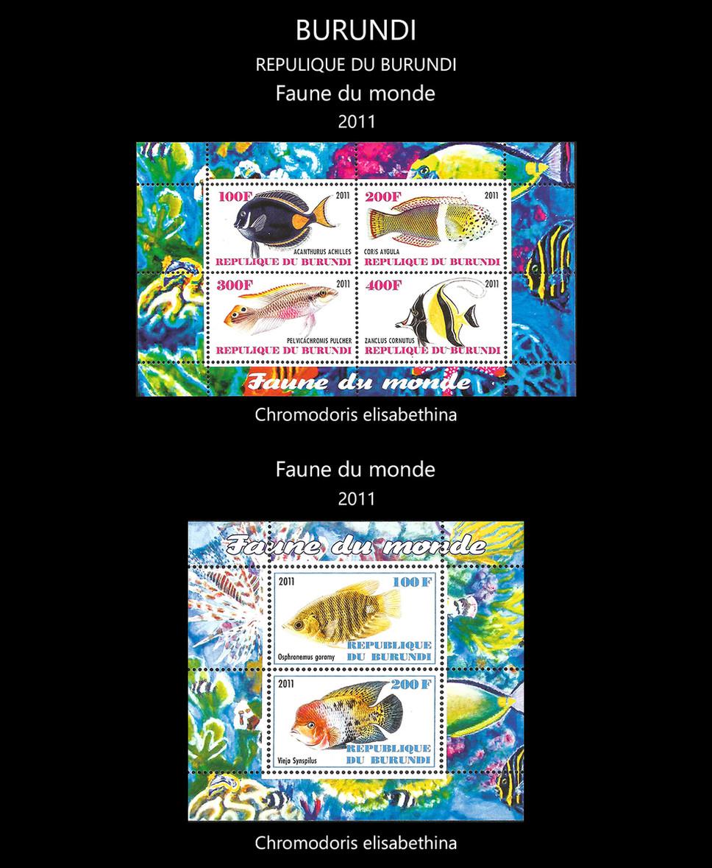 burundi Stamps & FDC