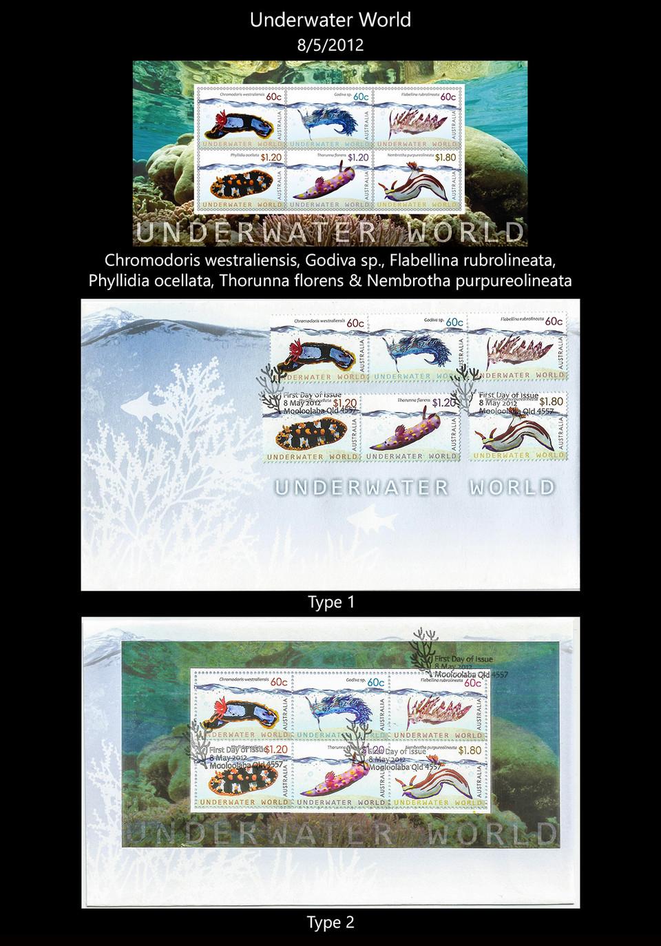 AUSTRALIA 4 Stamps & FDC