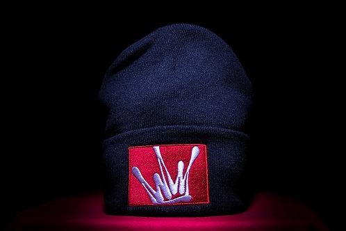 SNVPS crown logo winter cap