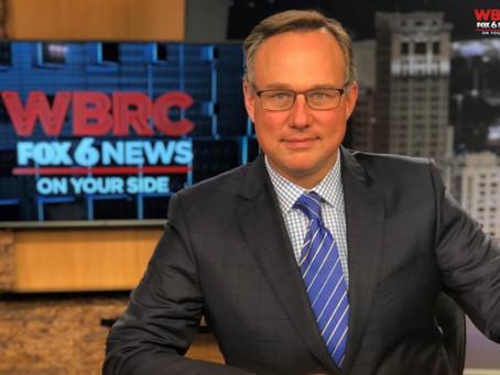 JP Dice says goodbye to WBRC FOX 6 in Birmingham
