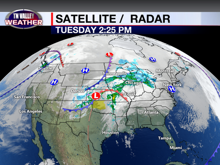 Stormy Wednesday.  Thanksgiving looks nice.  Another system this weekend.