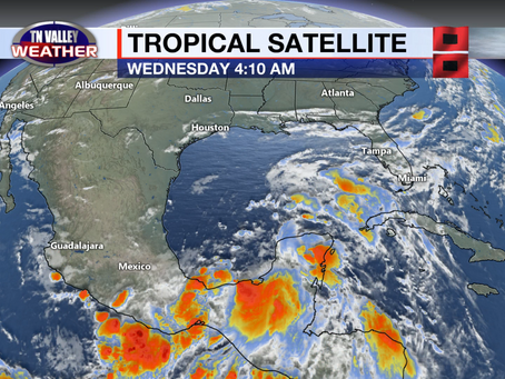 Quiet weather locally the next few days.  Still carefully monitoring the tropics.
