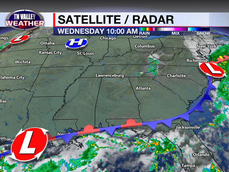 Awesome weather continues.  Slight rain chances by the weekend.  Warmer temps return as well.