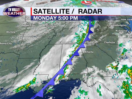 Cooler air is moving in, clouds hang tough one more day, even cooler this weekend