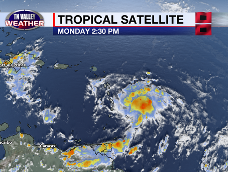 Tracking the tropical disturbance approaching the Caribbean.  T.S. Fred may be on the board soon.