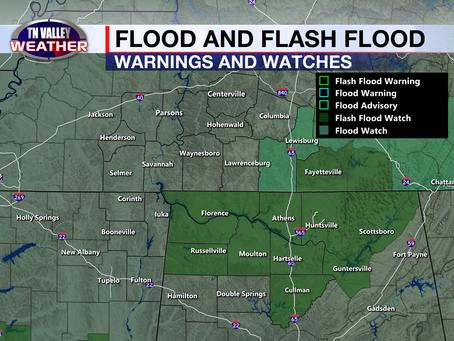 """Beta"" bringing rain to the area, Heavy rain and flash flooding possible"