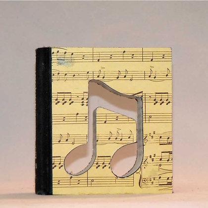 """Mini Book Letter """"1/8 Note"""""""