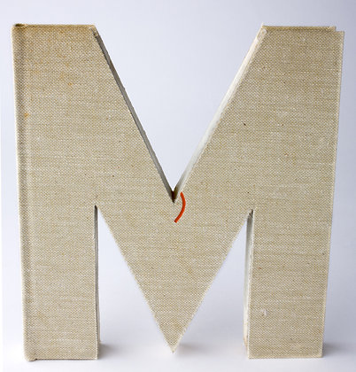 "Alphabet Book Letter ""M"""
