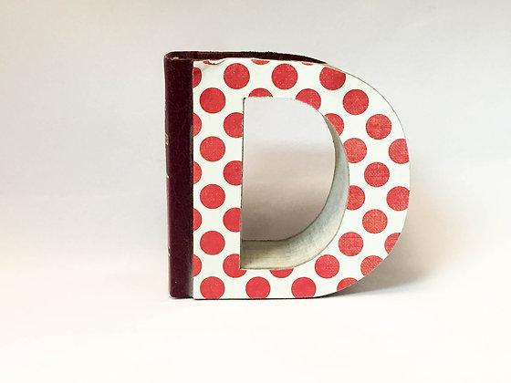 """Alphabet Mini Book Letter """"D"""""""