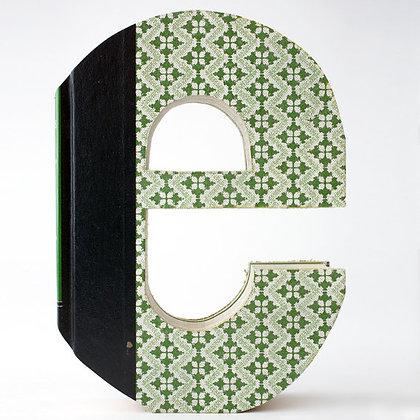 "Alphabet Book Letter ""e"""