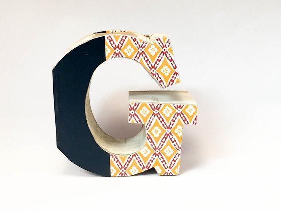 """Alphabet Mini Book Letter """"G"""""""