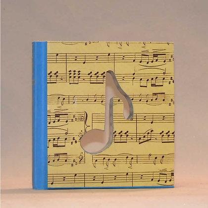 "Mini Book Letter ""Quarter Note"""