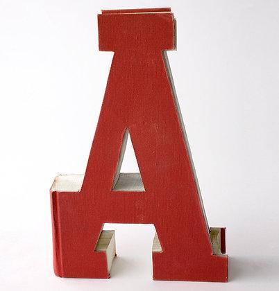"Alphabet Book Letter ""A"""