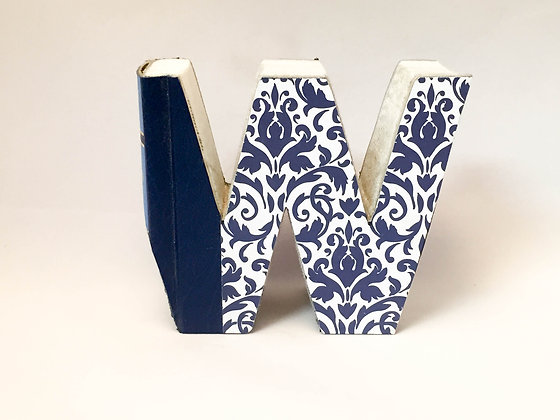 "Alphabet Mini Book Letter ""W"""