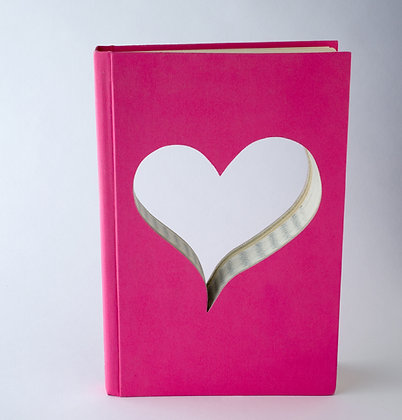Bridesmaid Heart Book Pink