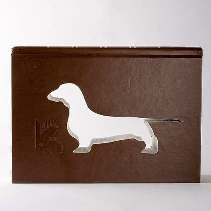 Dachshund Portrait Cut Out Book