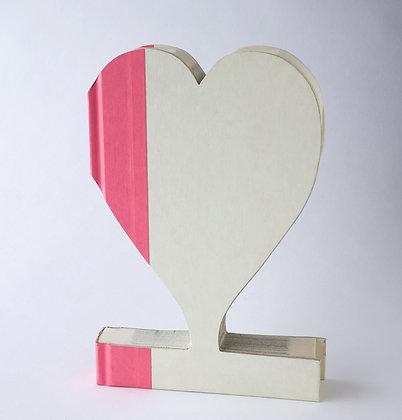 Flower Girl  Heart Book