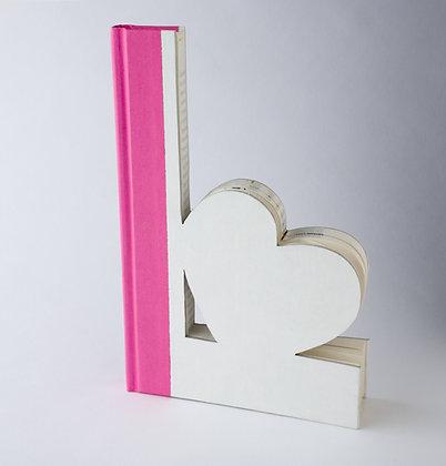 Wedding Decor L Heart Book Letter