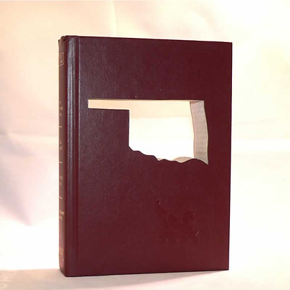 "Cut-In Book Letter ""Oklahoma"""