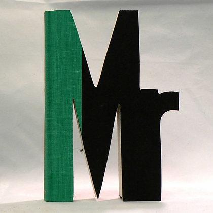 """""""Mr"""" Salutation Book Letter"""
