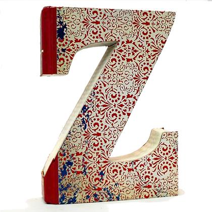 "Alphabet Book Letter ""Z"""