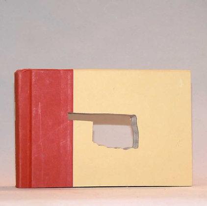 """Cut-In Mini Book Letter """"Oklahoma"""""""