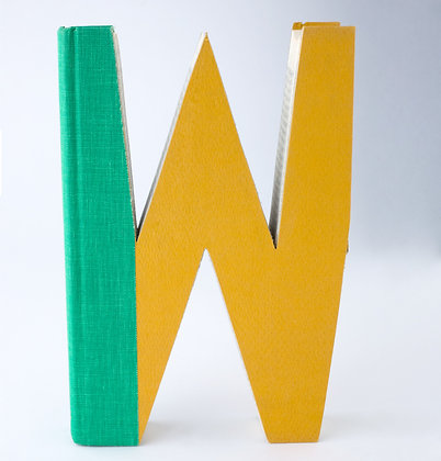 """Alaphbet Book Letter """"W"""""""