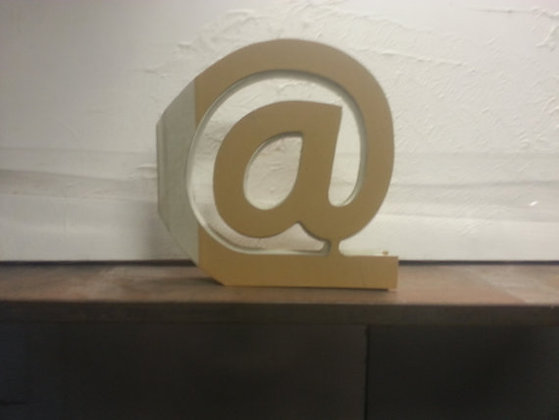 """""""@"""" Email Book Letter"""