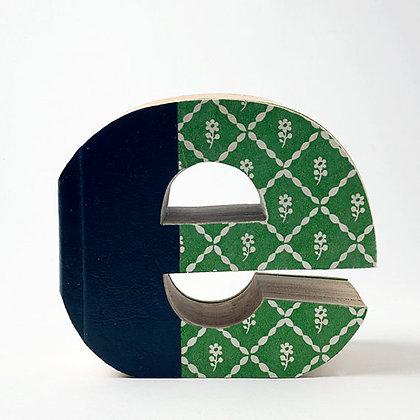 """Alphabet Mini Book Letter """"e"""""""