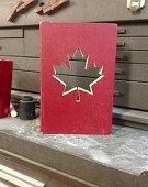 Canada Custom Silhouette Cut Out Book