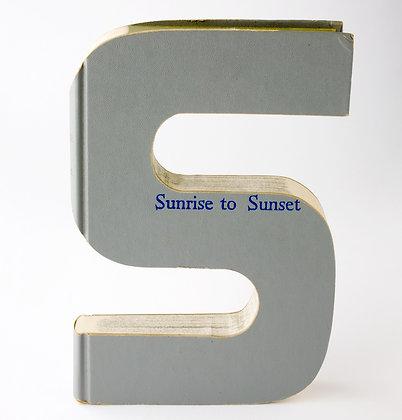 "Alphabet Book Letter ""S"""