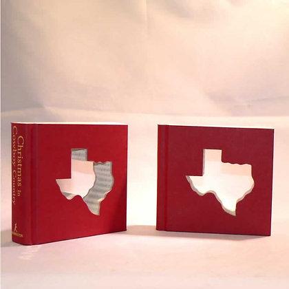 "Cut-In Mini Book Letter ""Texas"""