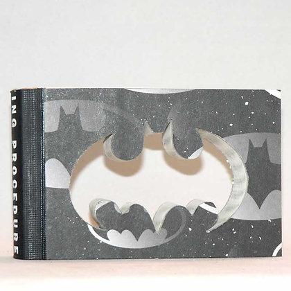 """Cut-In Mini Book Letter """"Batman"""""""