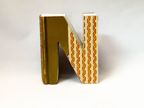 "Alphabet Mini Book Letter ""N"""