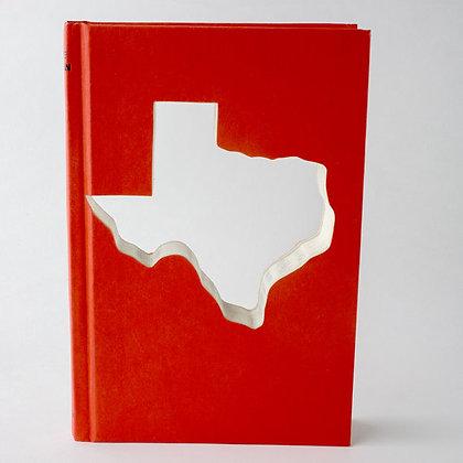 Texas Custom Silhouette Cut Out Book