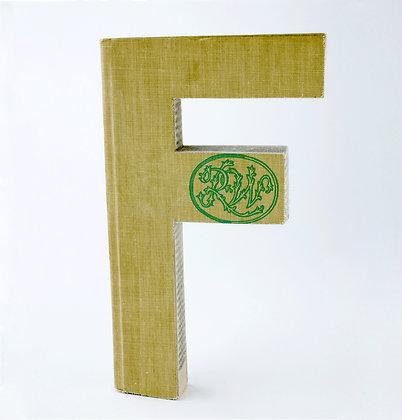 "Alphabet Book Letter ""F"""