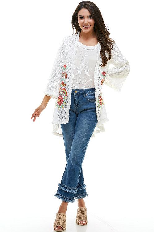 Kim Double Fringe Jean