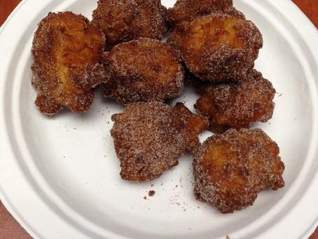 Cinnamon Sugar Apple Fritters