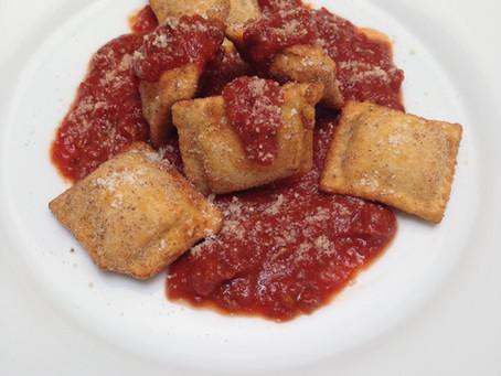 Toasted Fis-Chic Ravioli