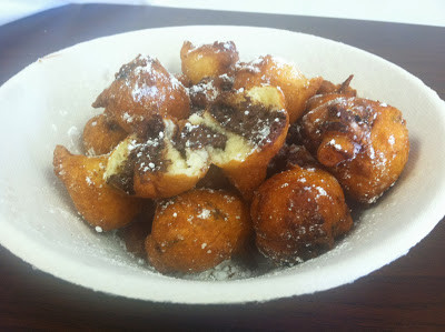 Chocolate Chip Fritters