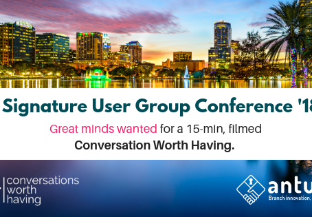 A conversation worth having at Signature User Group conference 2018.