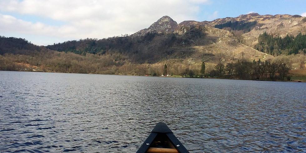 Canoe Open Water Skills (2 days) Loch Lomond