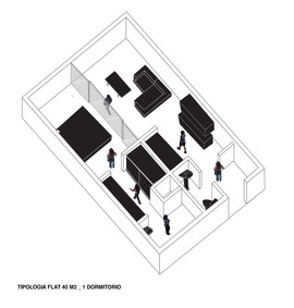 Isometria flat 40m2