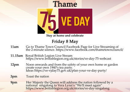 Thame Town Council VE Day